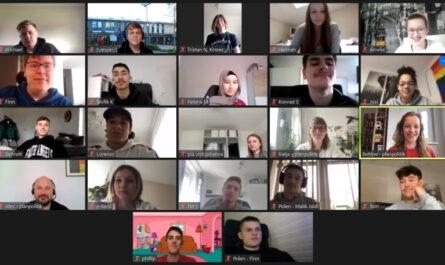 BGW20D beim Planspiel in der Videokonferenz