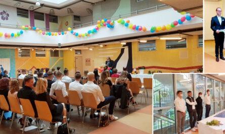 Abschlussfeier der Fachoberschulklassen 2021